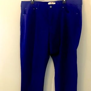 Levi's Blue 512 Perfectly Shaping Skinny Jeans